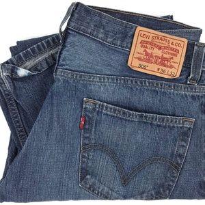 Levi's 505 Regular Fit Straight Denim Jeans 35x28
